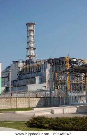 Chernobyl nuclear power plant. Kiev region,Ukraine