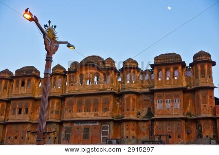 Jaipur At Evening, India.