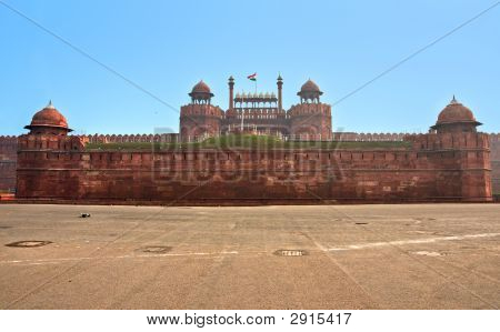 Red Fort, Old Delhi, India.