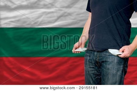 Recession Impact On Young Man And Society In Bulgaria