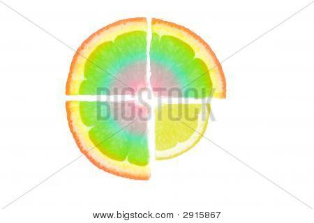 abstrakt Obst