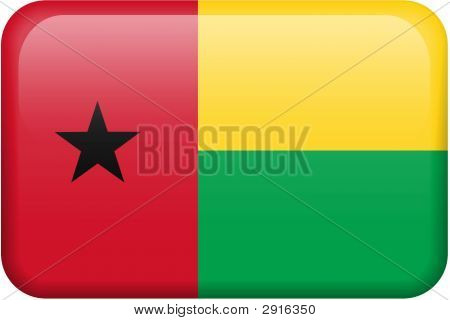 Guinea-Bissau Flag Button