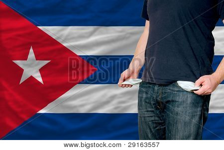Recession Impact On Young Man And Society In Cuba