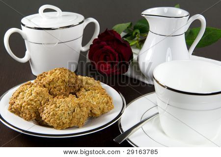 Cookies And Tea (or Coffee) Set