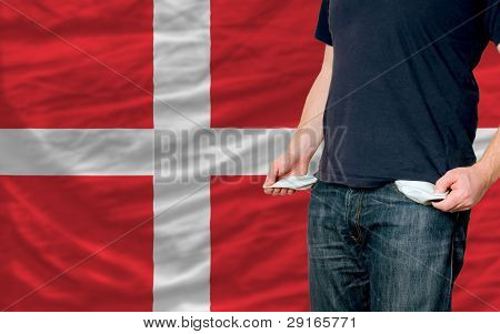 Recession Impact On Young Man And Society In Denmark