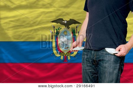 Recession Impact On Young Man And Society In Ecuador