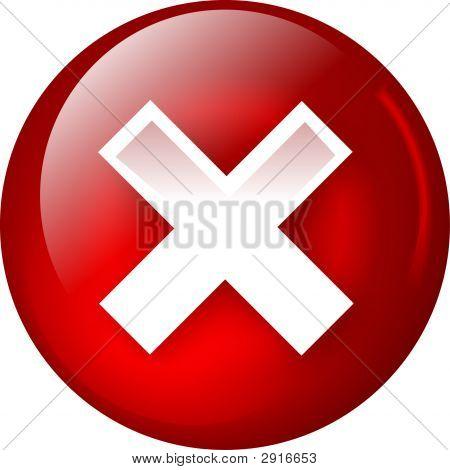 Delete Or Close Web Button