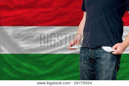 Recession Impact On Young Man And Society In Hungary