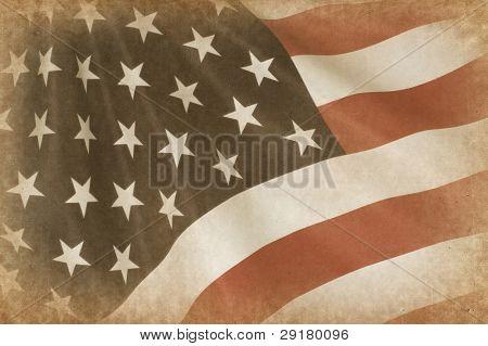 American Flag grange