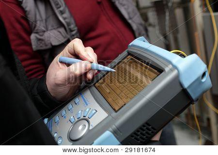 Adjusting Of Reflectometer