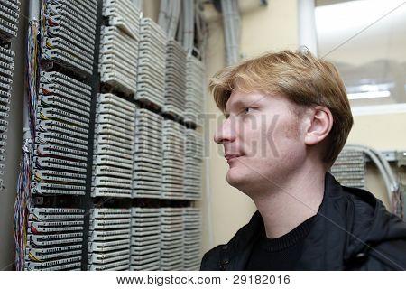 Portrait Of Telecom Engineer