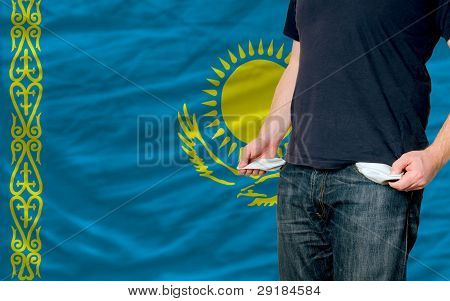 Recession Impact On Young Man And Society In Kazakhstan
