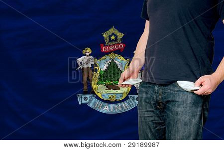 Recession Impact On Young Man And Society In American State Of Maine