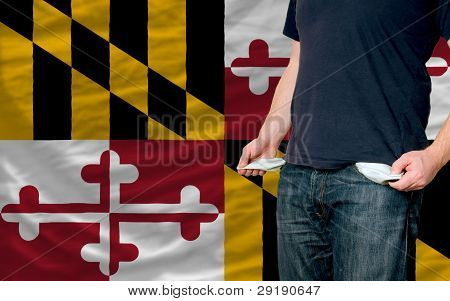 Recession Impact On Young Man And Society In American State Of Maryland