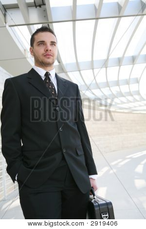 Handsome Business Man