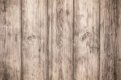Texture Of Gray Wooden Boards. Light Wooden Table. Rustic Closeup. Light Wood Background. Empty Plan poster