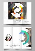 The Minimal Vector Layouts. Modern Creative Covers Design Templates For Trifold Brochure Or Flyer. F poster