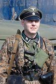 image of vinnitsa  - Person in SS field uniform - JPG