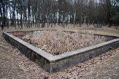 stock photo of hitler  - Adolf Hitler bunker remains - JPG