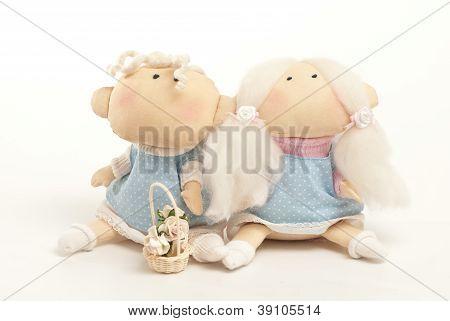 handmade toys boy and girl