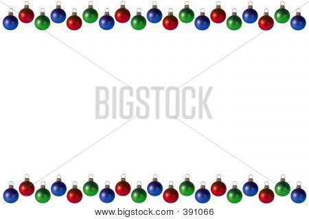 Christmas Bulbs Background