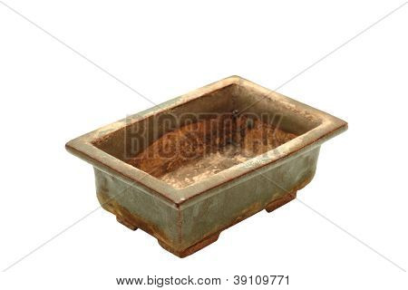 Ancient Japanese Bonsai Pot