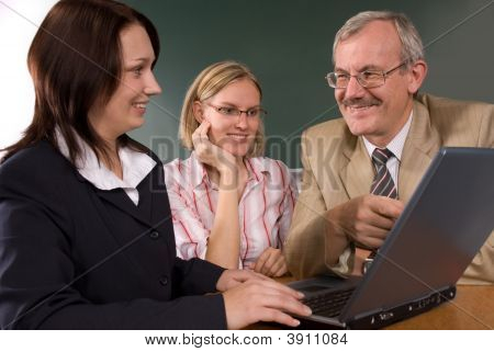 In Computer Classroom