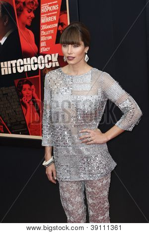 NEW YORK-NOV 18: Actress Jessica Biel attends the premiere of