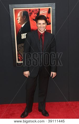 "NEW YORK-NOV 18: Actor Ralph Macchio attends the premiere of ""Hitchcock"" at the Ziegfeld Theatre on November 18, 2012 in New York City."