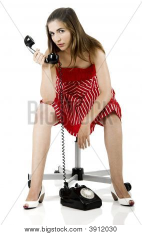 Telephone Woman