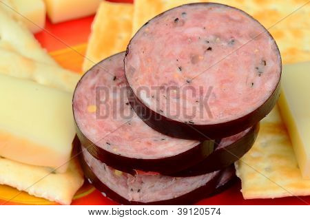 Summer Sausage And Cheese