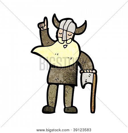 cartoon viking