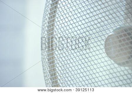 Closeup Running Axle Fan