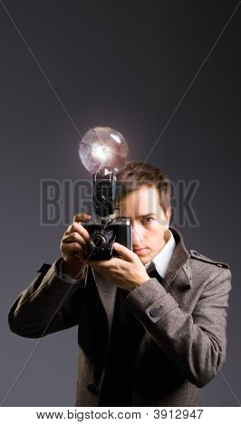 Retro Photo Journalist