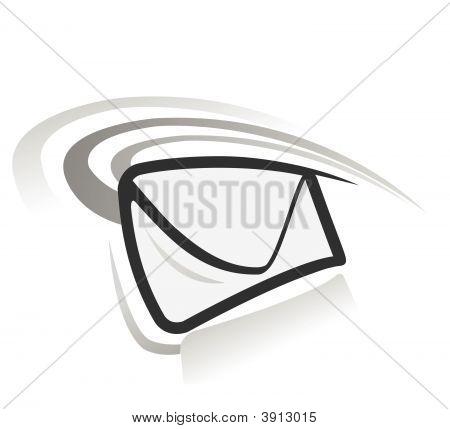 e Mail Vektor-Symbol
