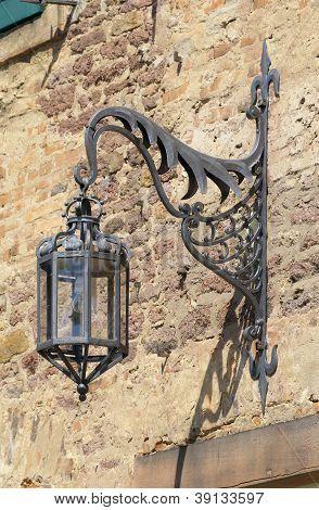 Old arc lamp