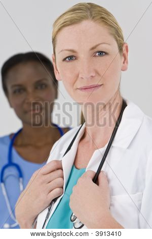 Happy Female Doctors