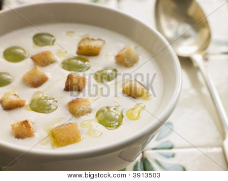 Ajo Blanco- White Garlic Soup