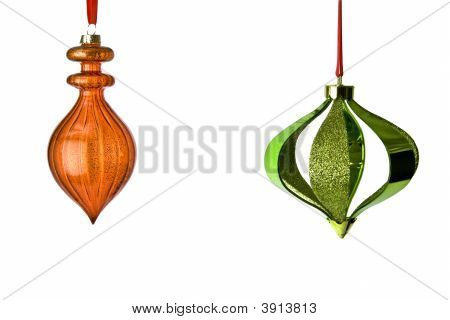 Two Hanging Ornaments