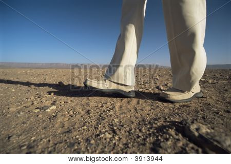 Pés para andar em terrenos acidentados