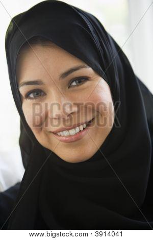 Porträt des Nahen Ostens Frau
