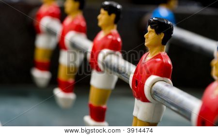 Foosball Or Table Soccer Men