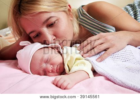 Mother With Babe