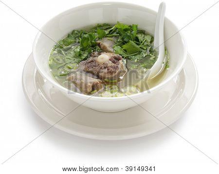 sopa de rabo de boi havaiana