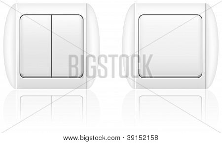 Electric Light Switch Illustration