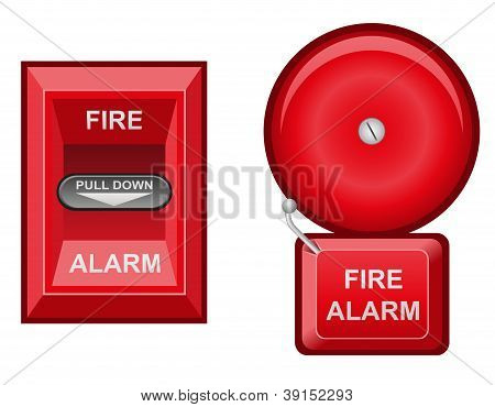 Fire Alarm Illustration