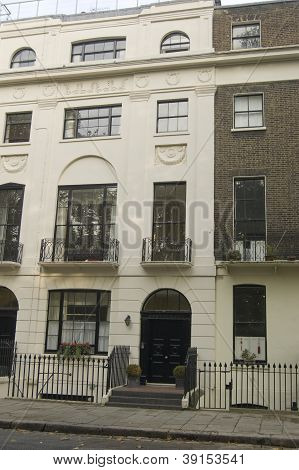 Historic Home, Mecklenburgh Square, London
