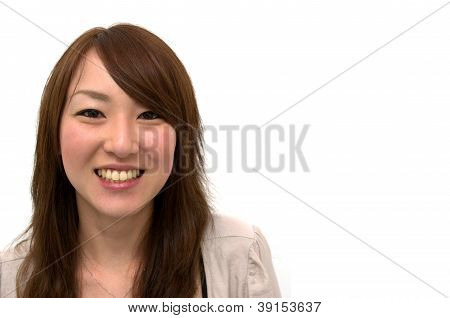 Casual Asian Businesswoman