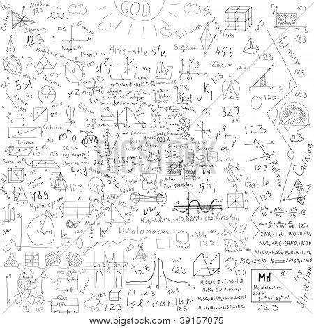 School Doodles Background