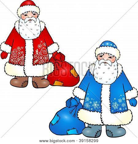 Russian Santa Claus - Grandfather Frost